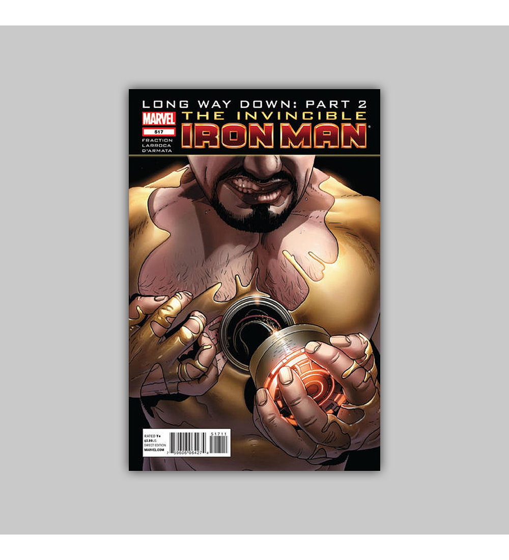 Invincible Iron Man 517 2012