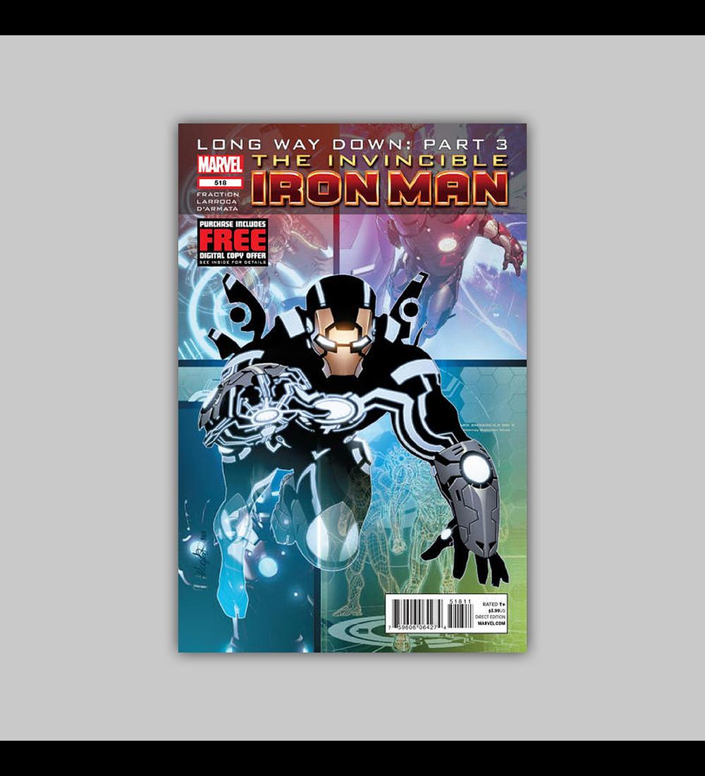 Invincible Iron Man 518 2012