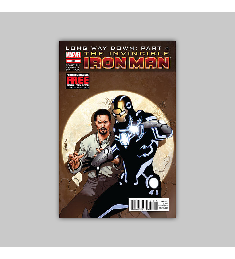 Invincible Iron Man 519 2012