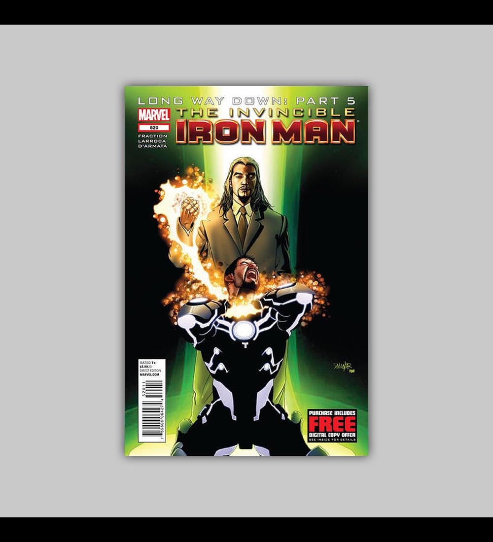Invincible Iron Man 520 2012