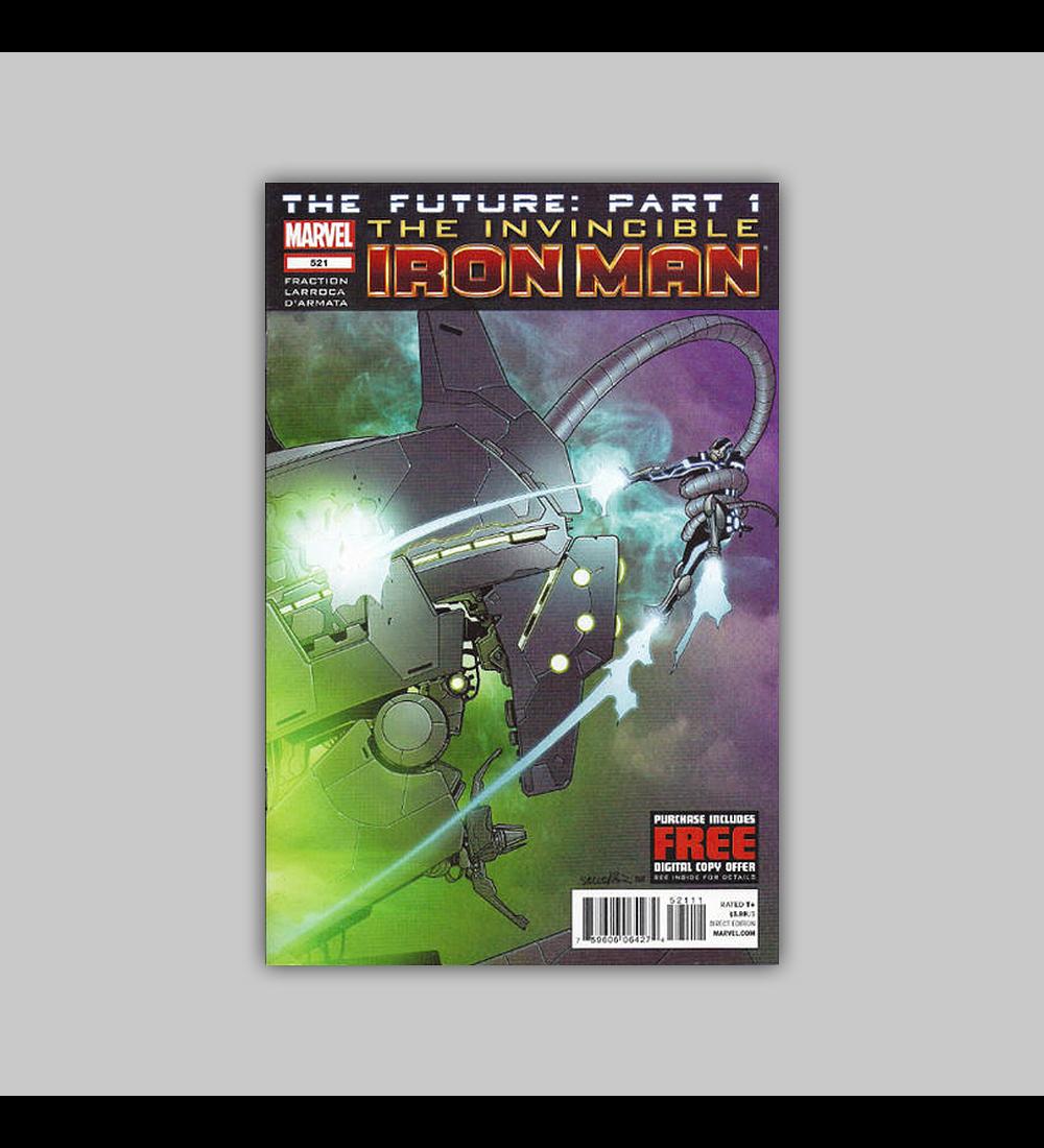 Invincible Iron Man 521 2012