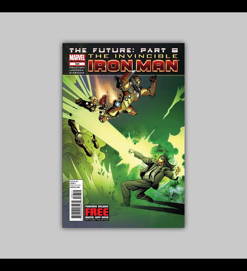 Invincible Iron Man 526 2012