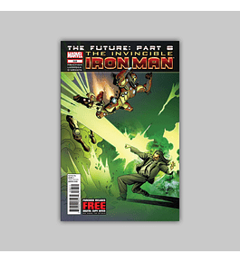 Invincible Iron Man 526 2012