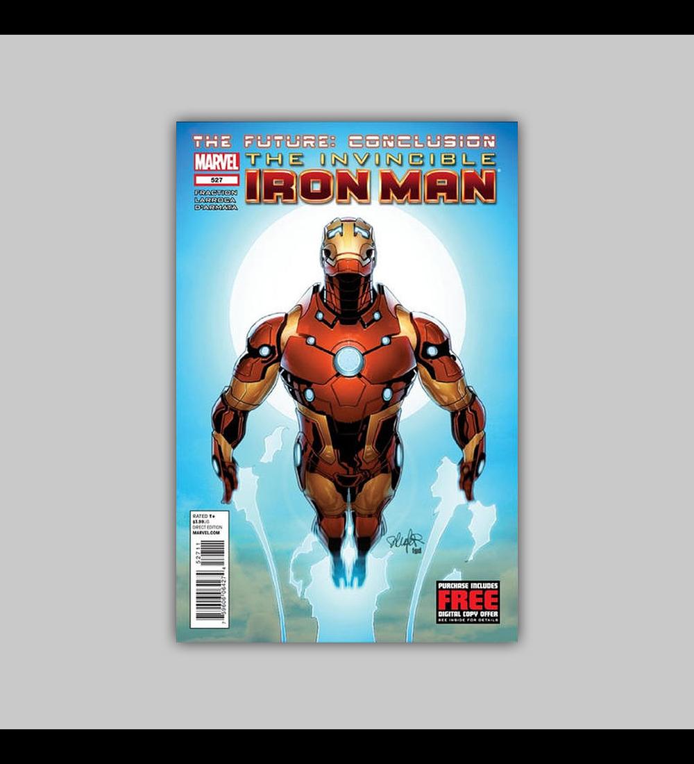 Invincible Iron Man 527 2012
