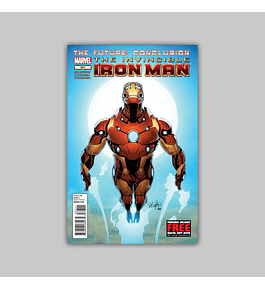 Invincible Iron Man 527 2012