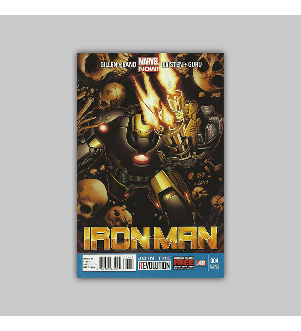 Iron Man (Vol. 5) 4 2nd. Printing 2013