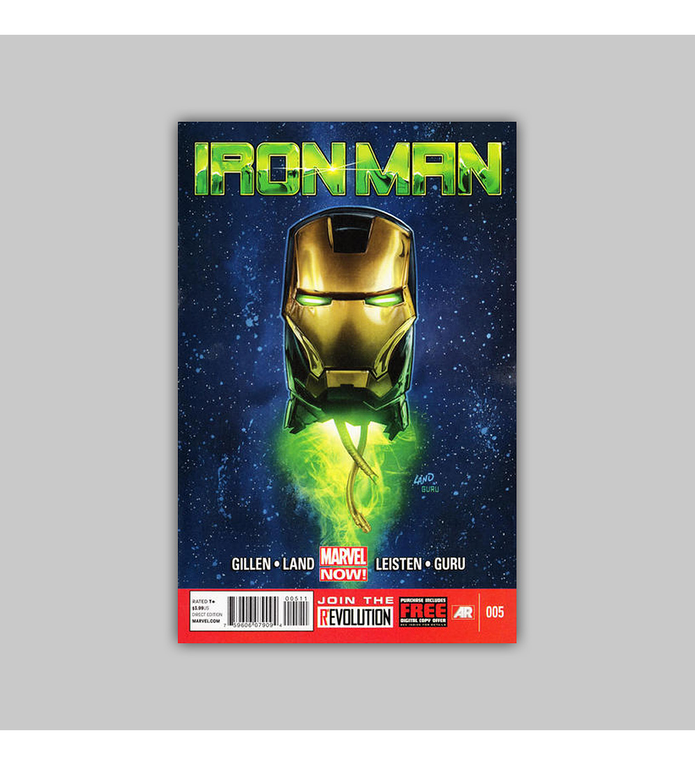 Iron Man (Vol. 5) 5 2013