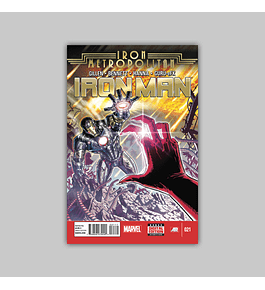 Iron Man (Vol. 5) 21 2014