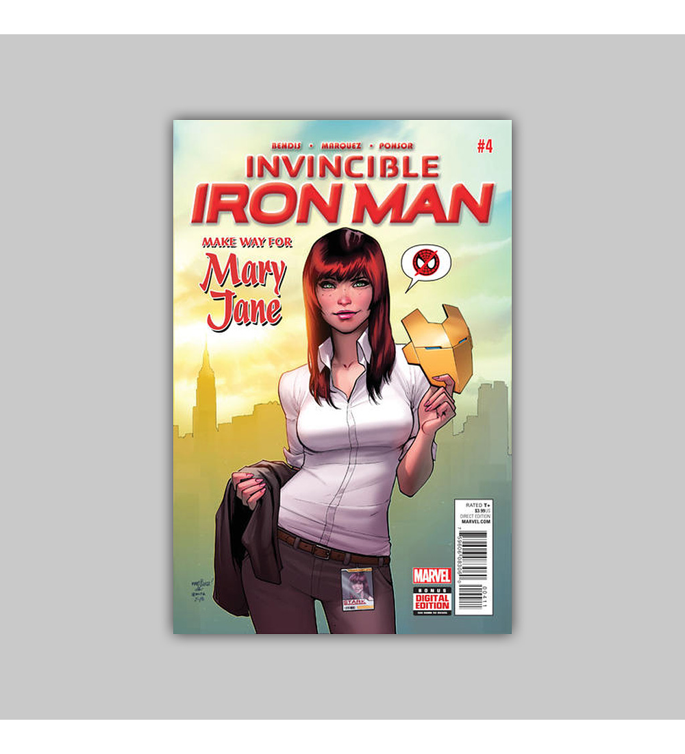 Invincible Iron Man (Vol. 2) 4 2016