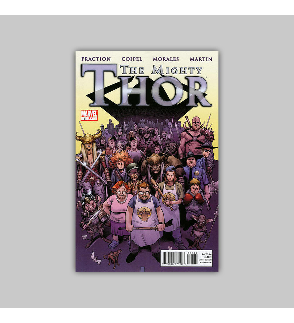 Mighty Thor 5 2011