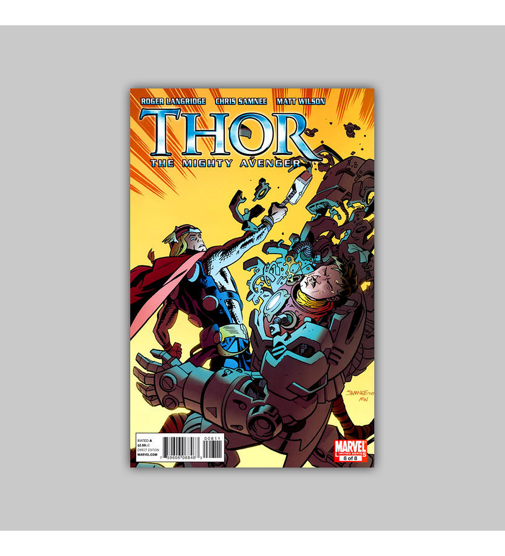 Thor: The Mighty Avenger 8 2011