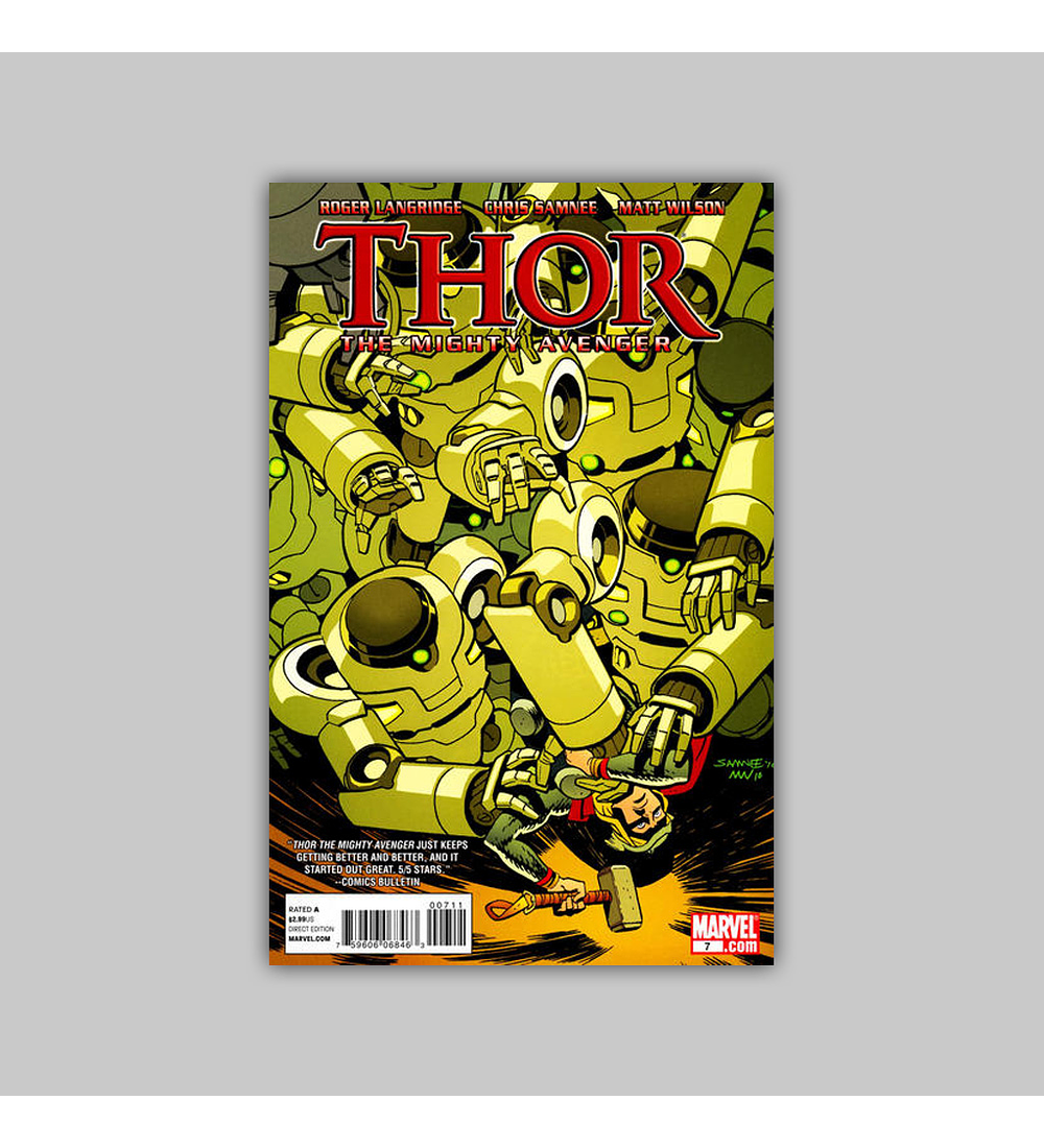 Thor: The Mighty Avenger 7 2011