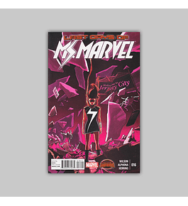 Ms. Marvel (Vol. 2) 16 2015