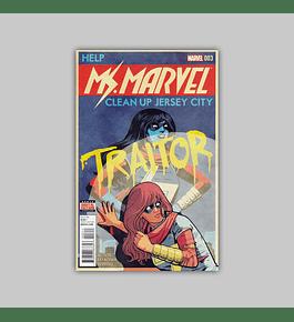 Ms. Marvel (Vol. 3) 3 2016