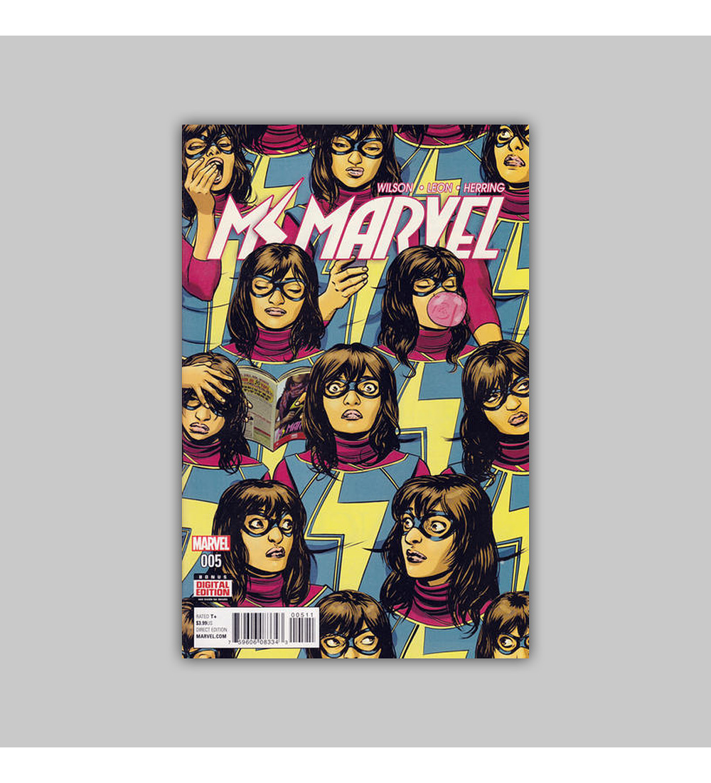 Ms. Marvel (Vol. 3) 5 2016