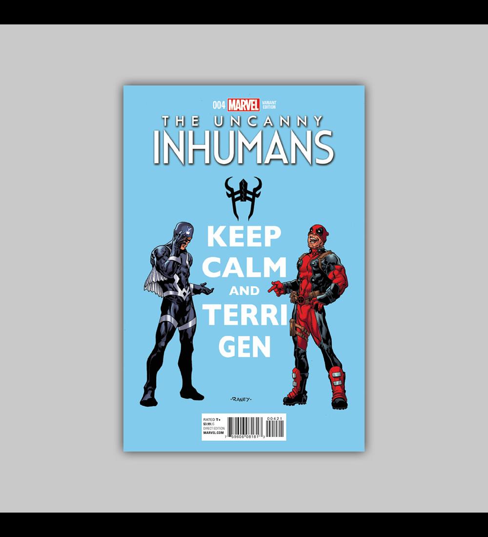 Uncanny Inhumans 4 B 2016