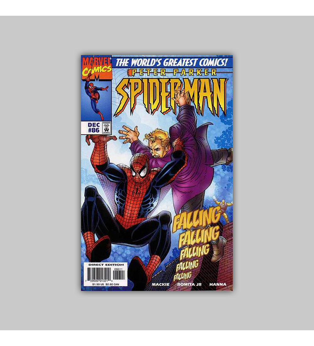 Peter Parker: Spider-Man 86 1997