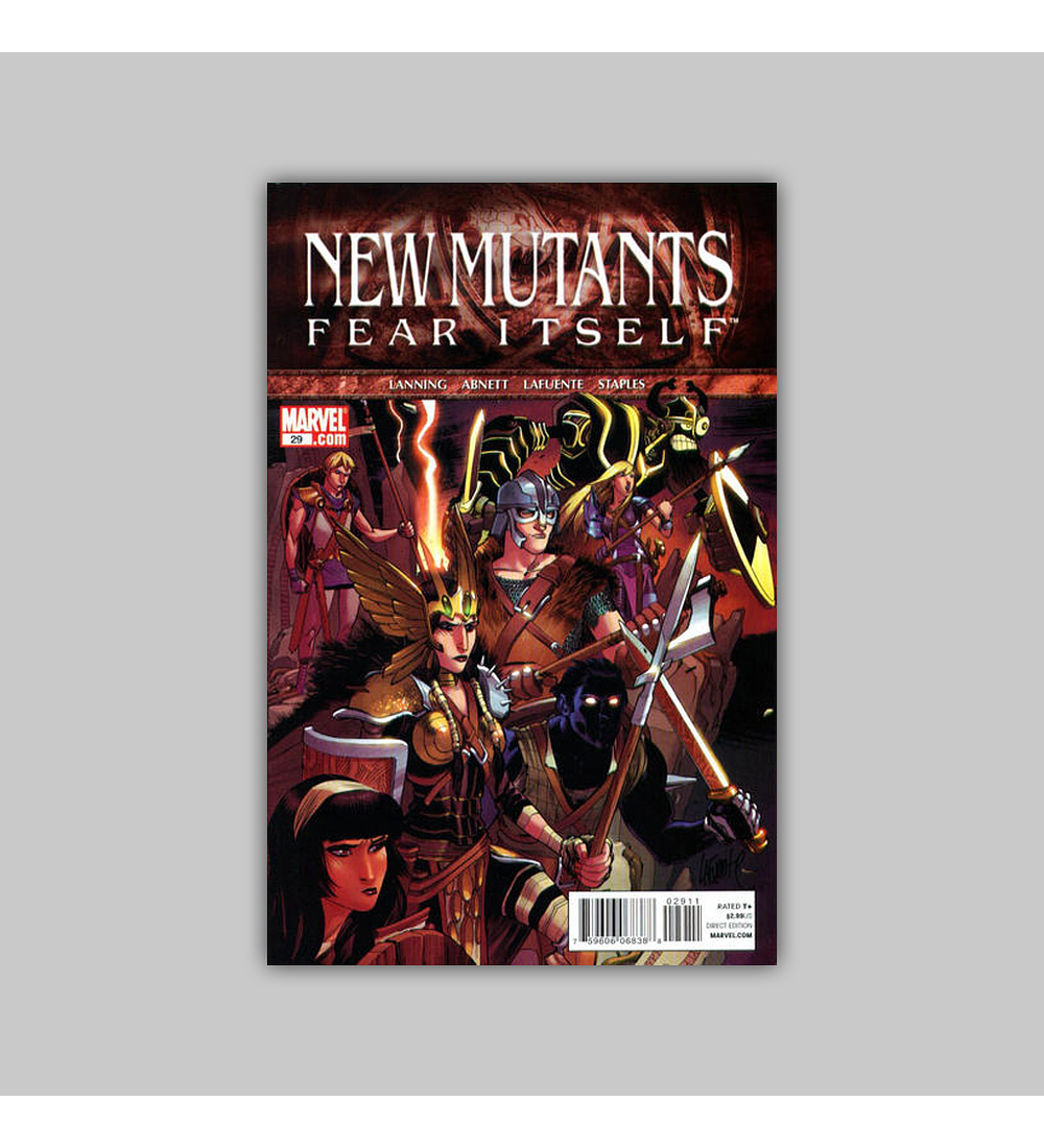 New Mutants (Vol. 3) 29 2011
