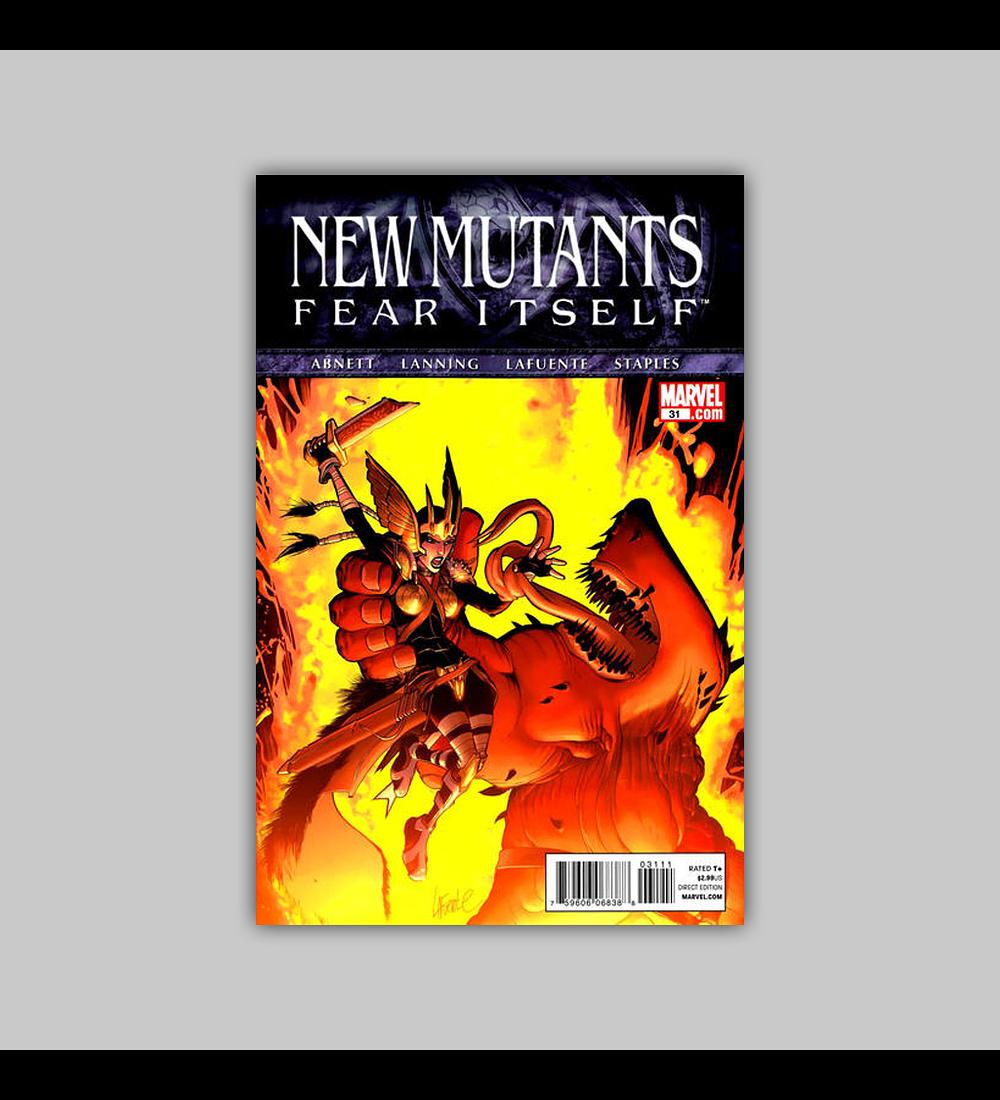New Mutants (Vol. 3) 31 2011