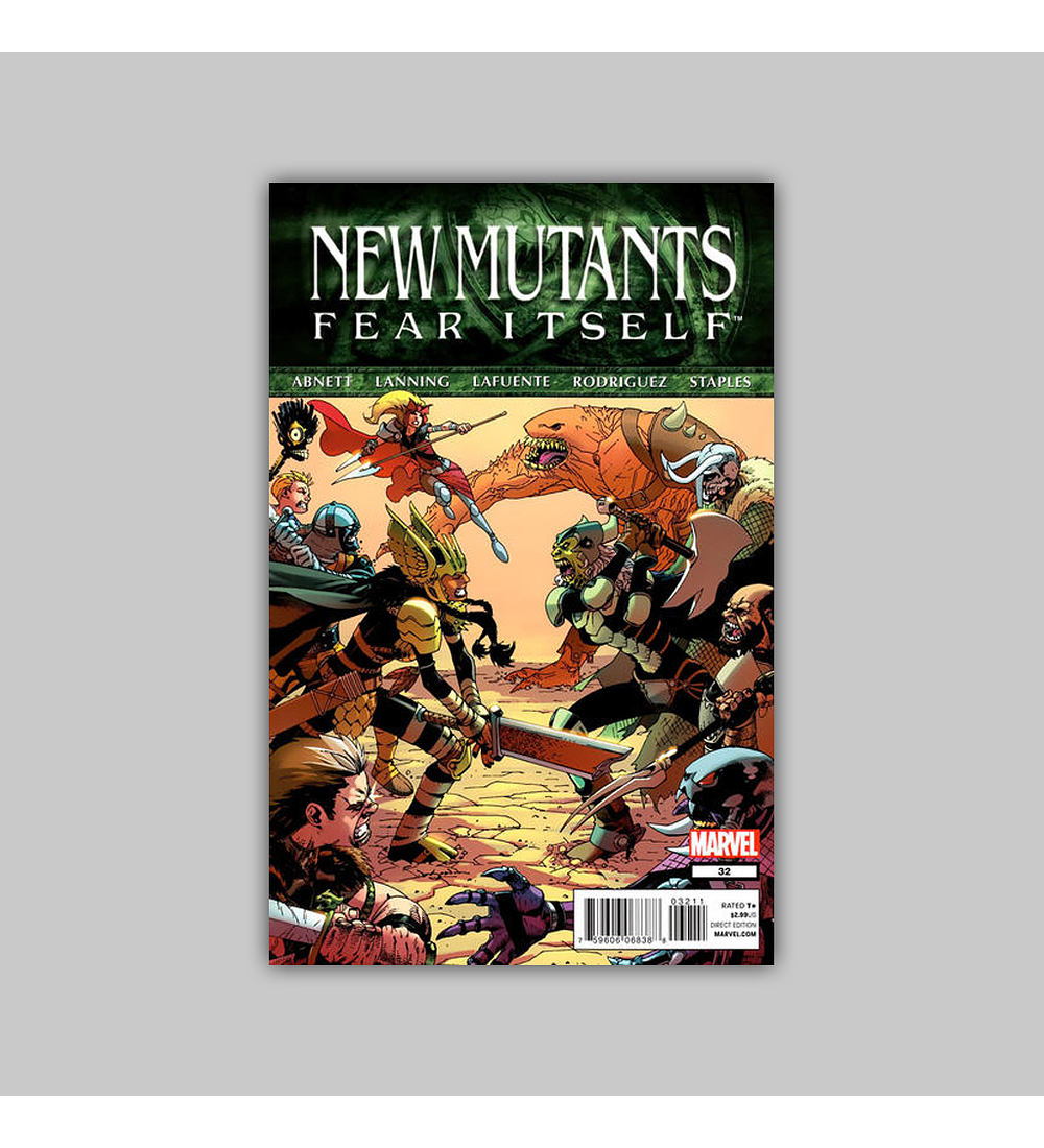New Mutants (Vol. 3) 32 2011