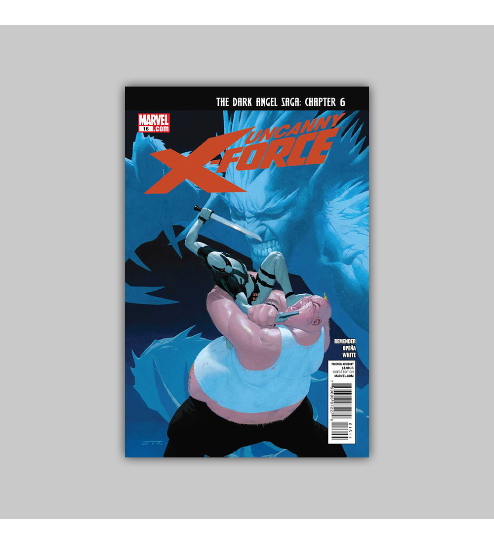 Uncanny X-Force 16 2011