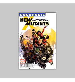New Mutants (Vol. 3) 33 2012