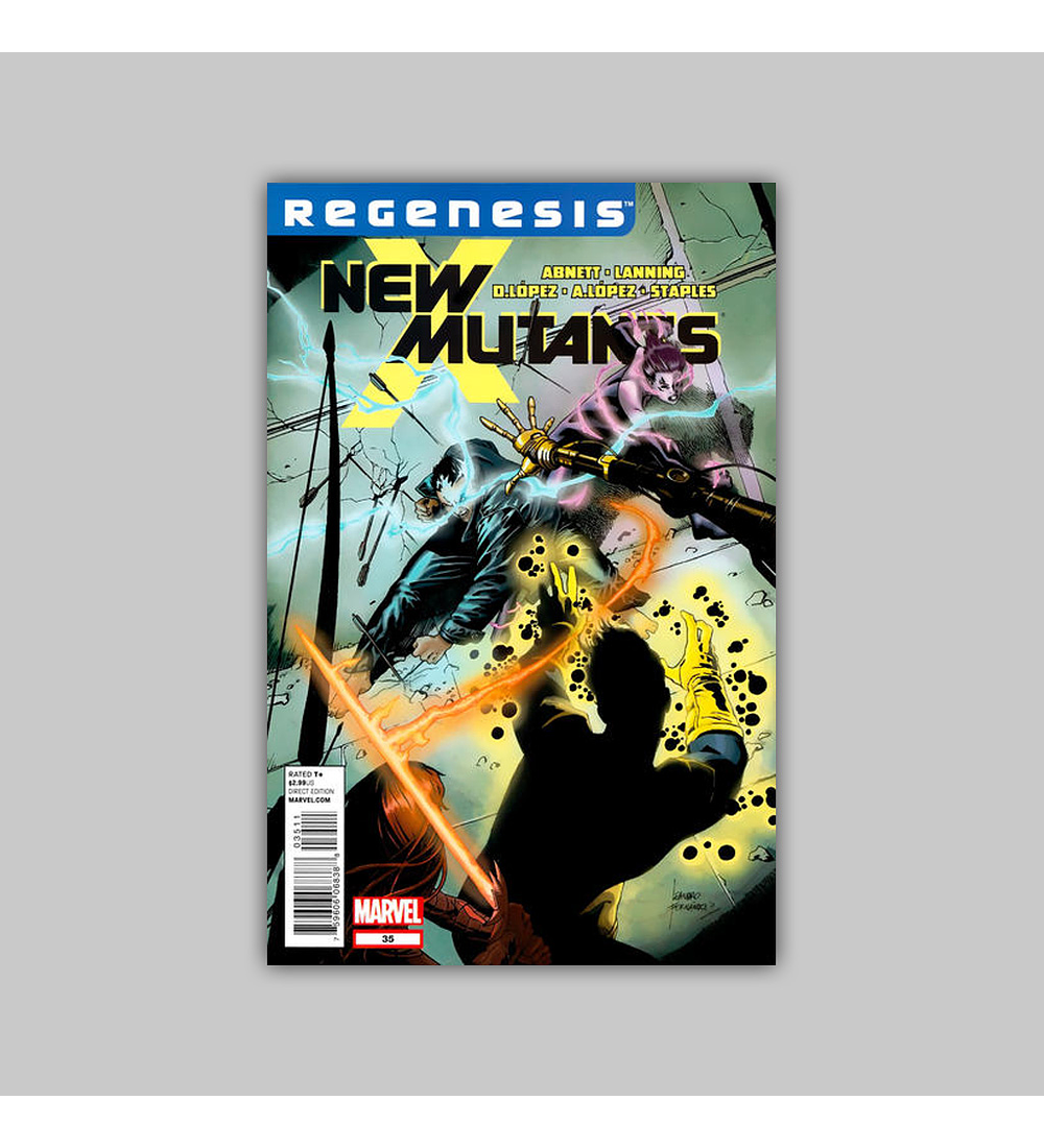 New Mutants (Vol. 3) 35 2012