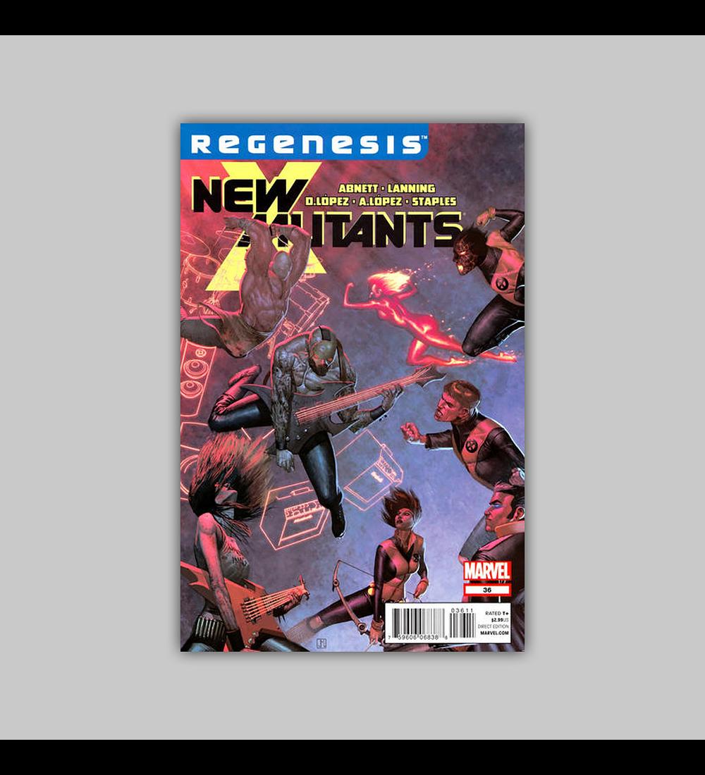 New Mutants (Vol. 3) 36 2012