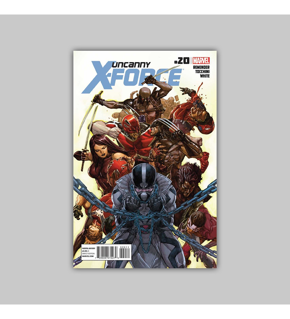 Uncanny X-Force 20 2012