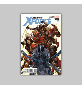 Uncanny X-Force 20 2012