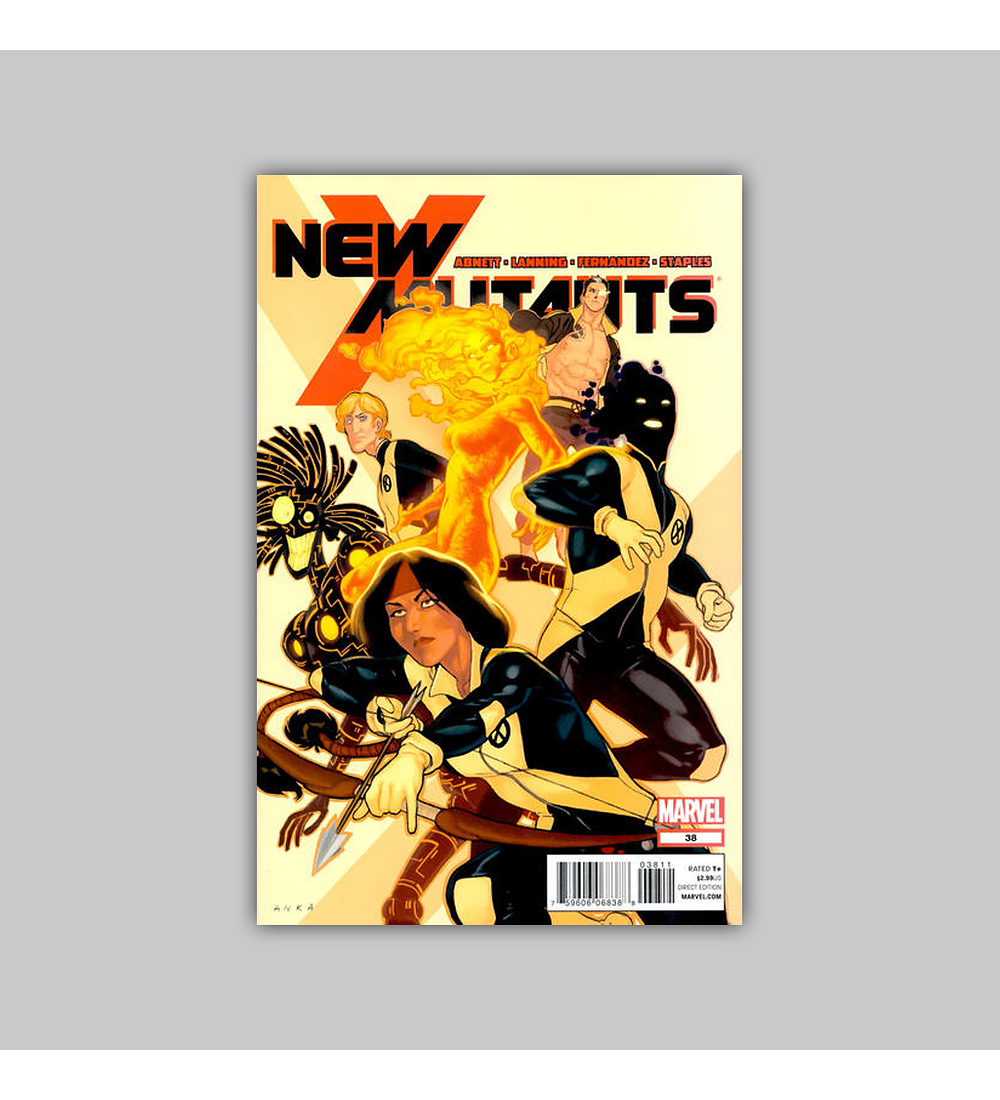 New Mutants (Vol. 3) 38 2012