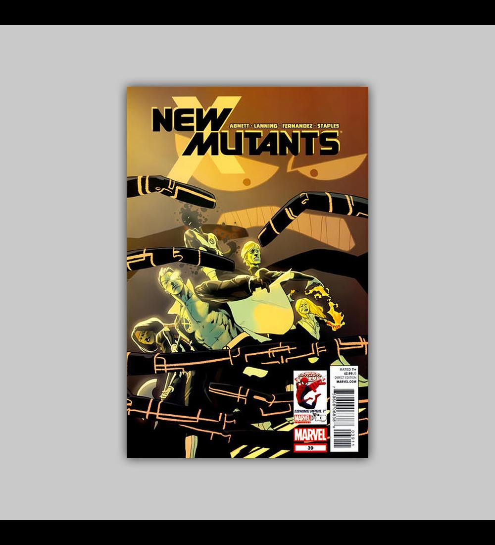 New Mutants (Vol. 3) 39 2012