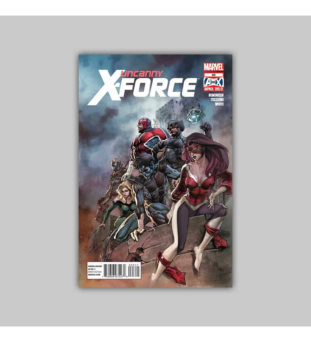 Uncanny X-Force 23 2012