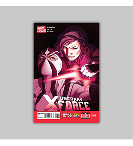 Uncanny X-Force (Vol. 2) 8 2013