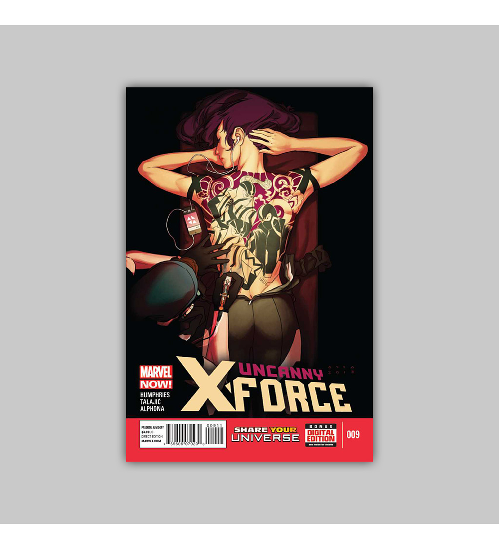 Uncanny X-Force (Vol. 2) 9 2013