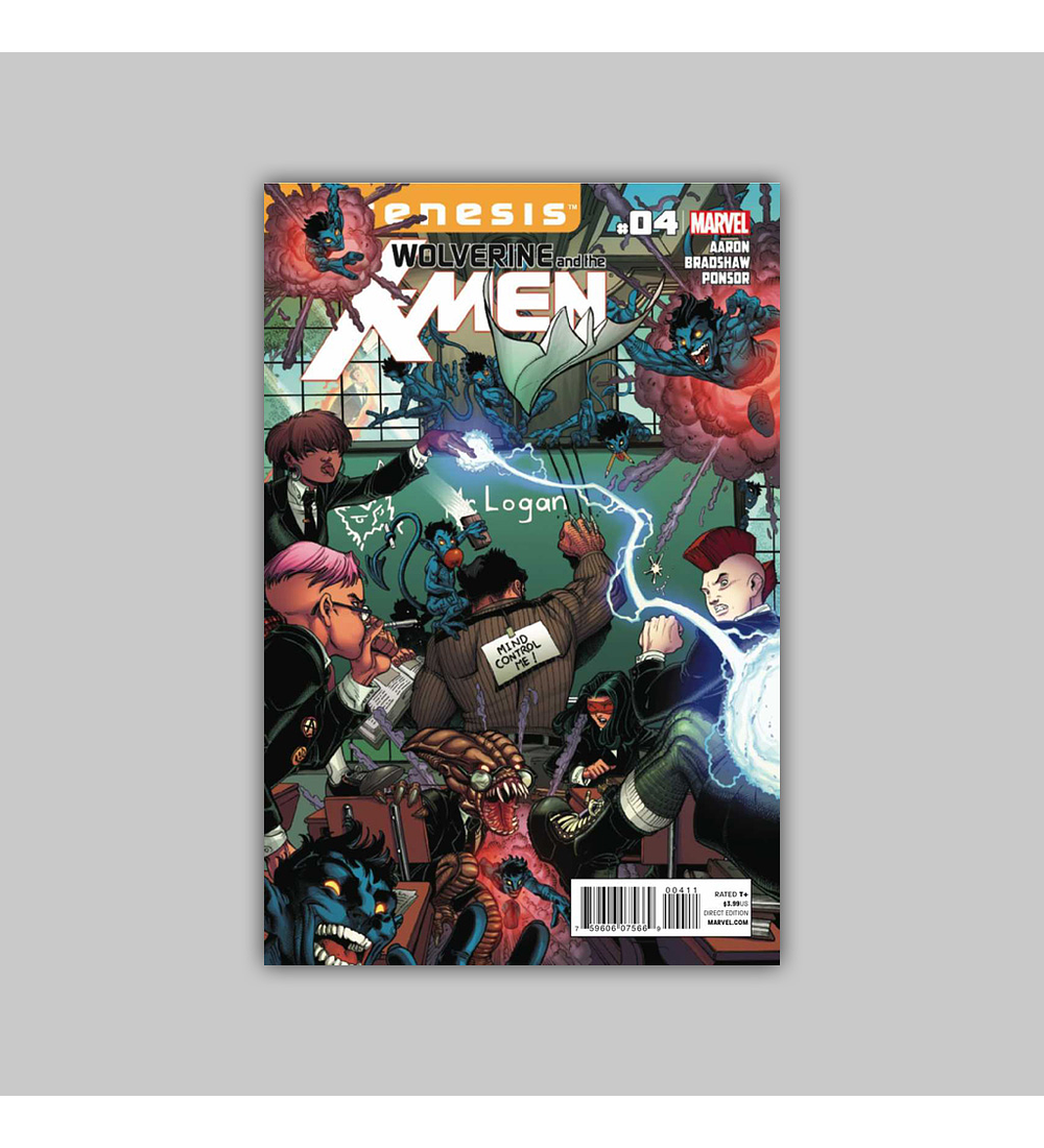 Wolverine and the X-Men 4 2012