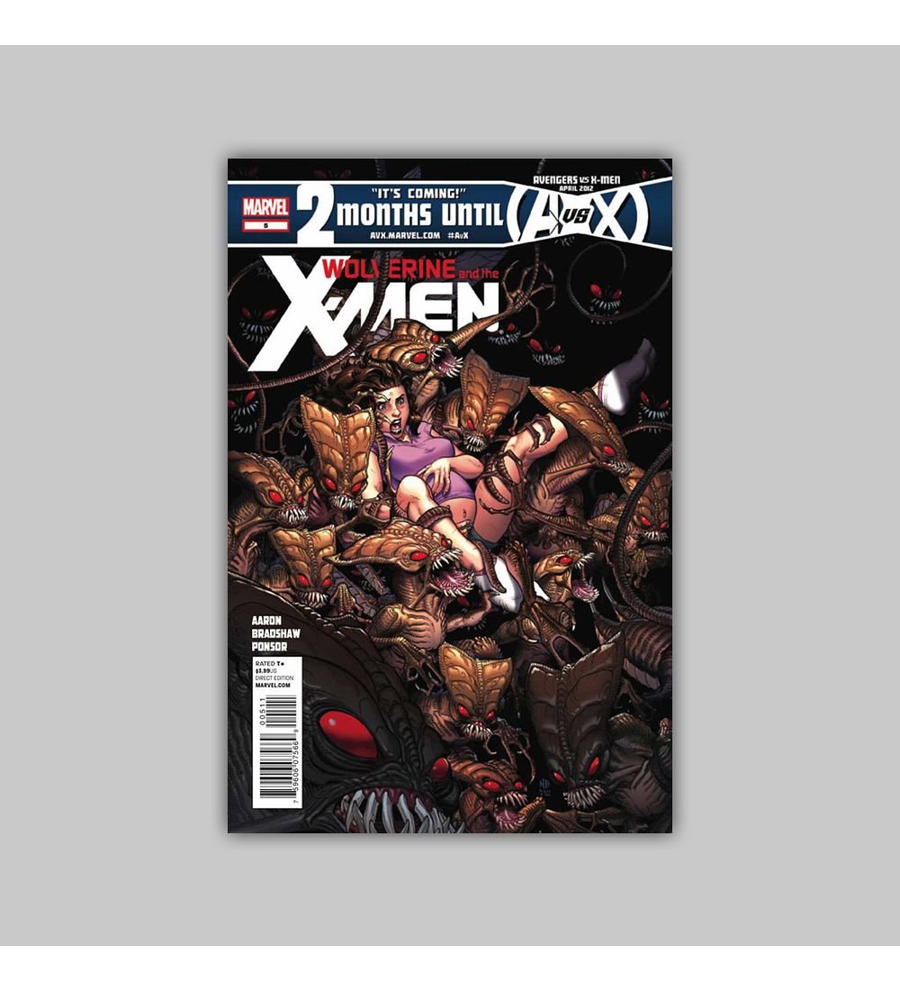 Wolverine and the X-Men 5 2012