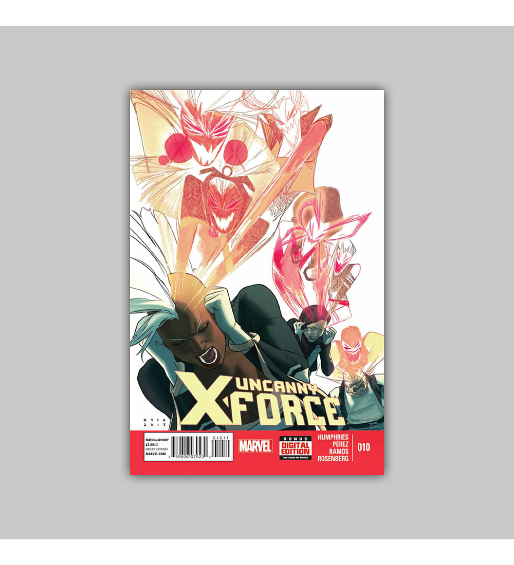 Uncanny X-Force (Vol. 2) 10 2013