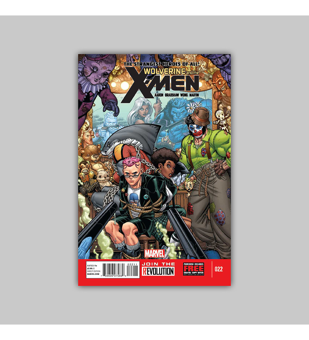 Wolverine and the X-Men 22 2013