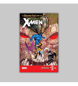 Wolverine and the X-Men 33 2013