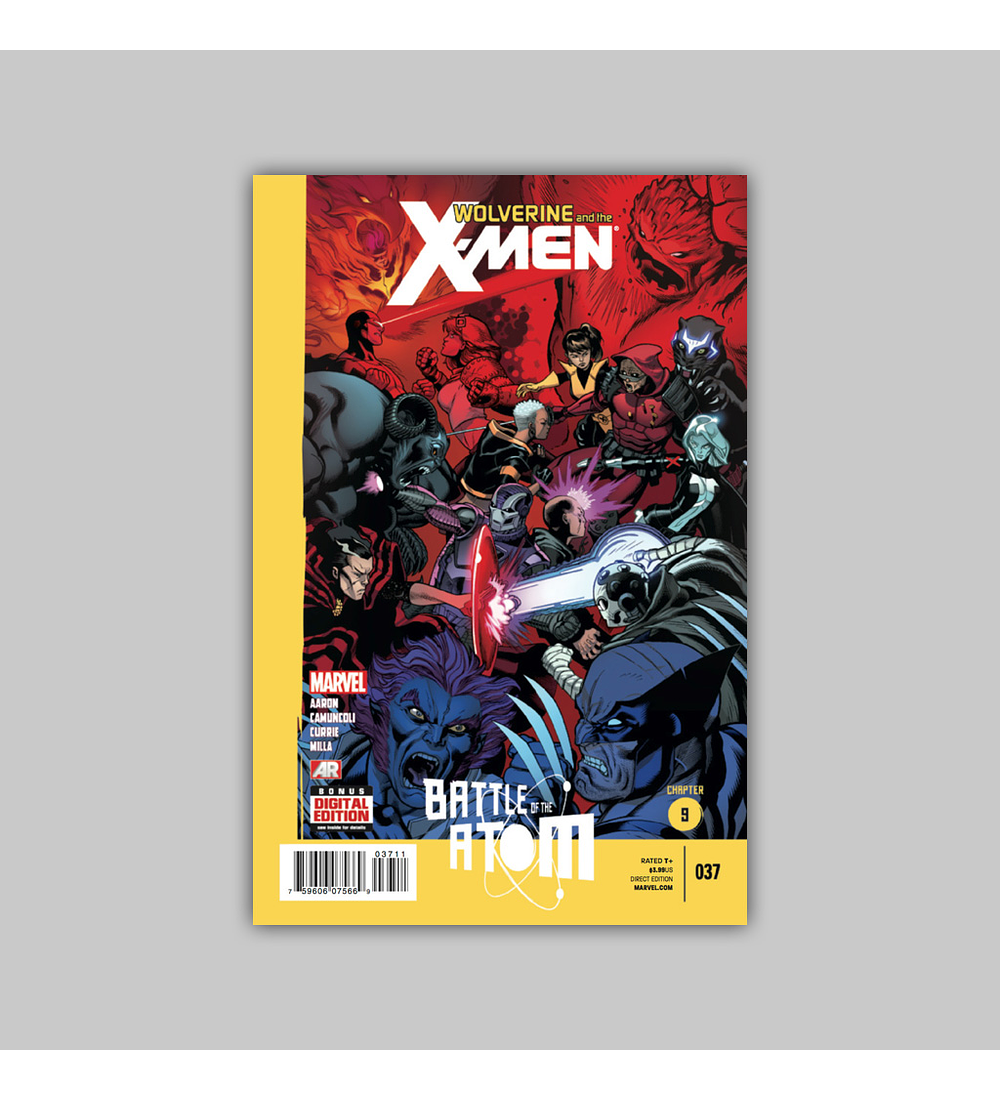 Wolverine and the X-Men 37 2013