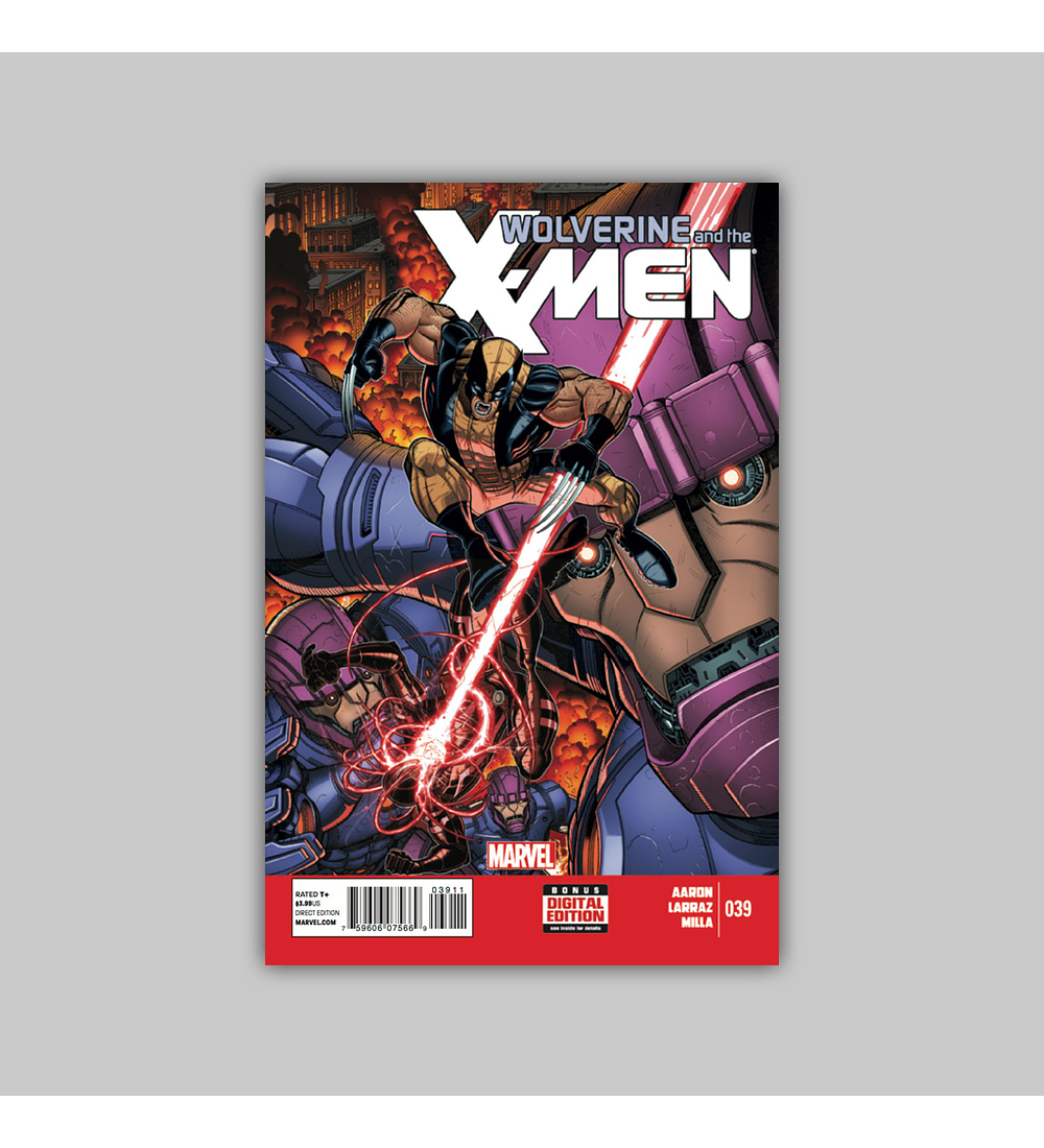 Wolverine and the X-Men 39 2014