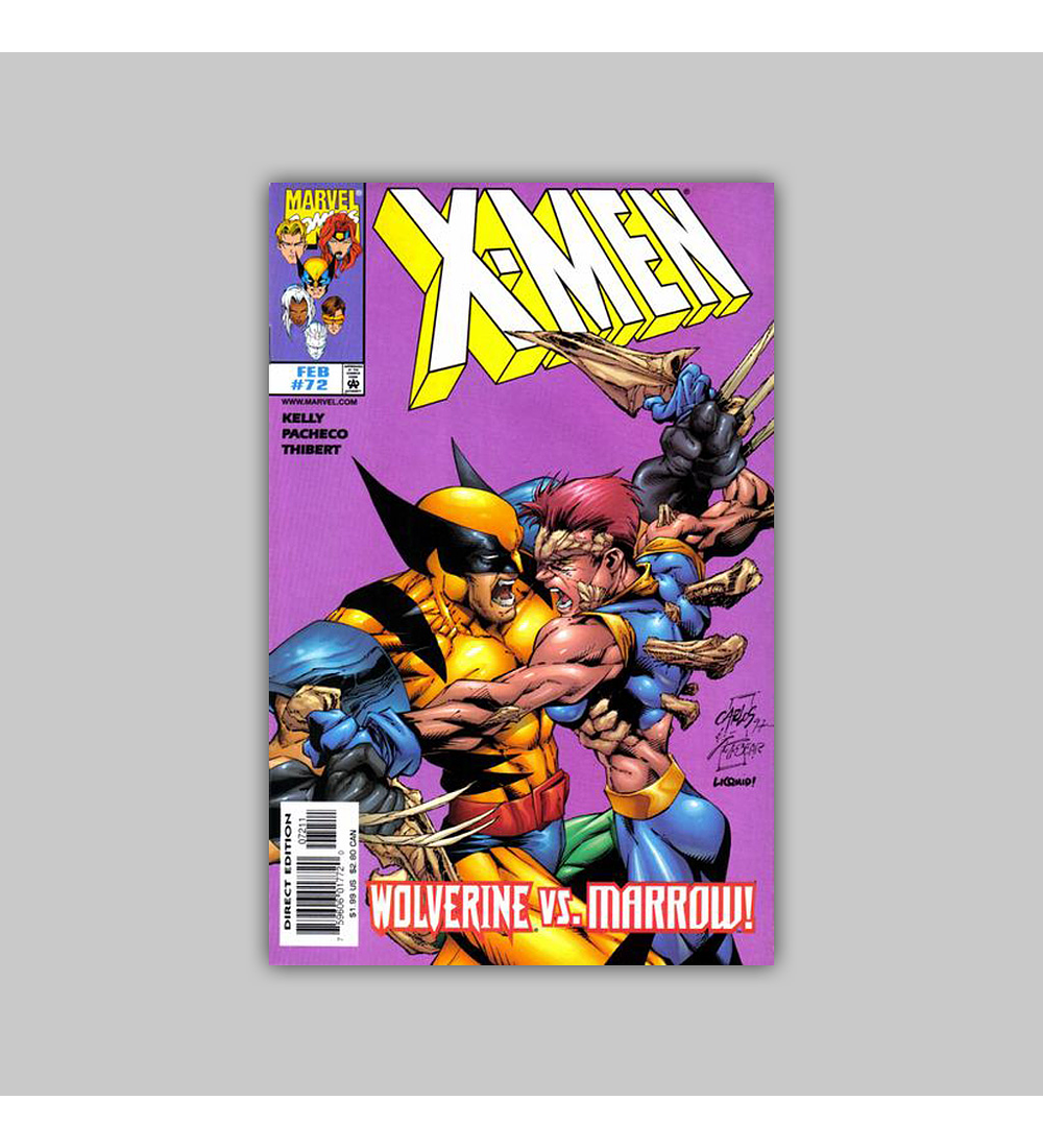 X-Men 72 1998