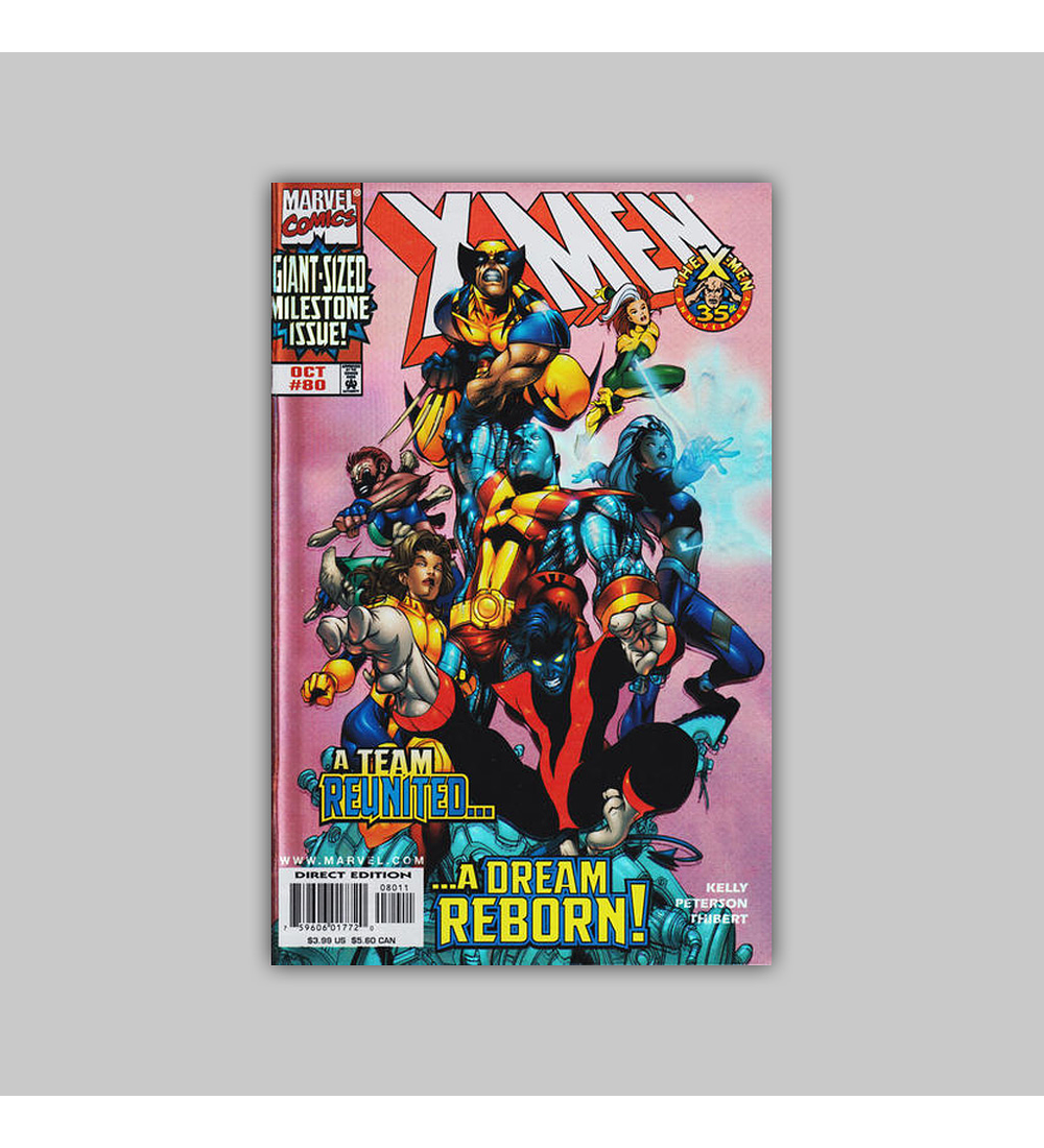 X-Men 80 Foil 1998