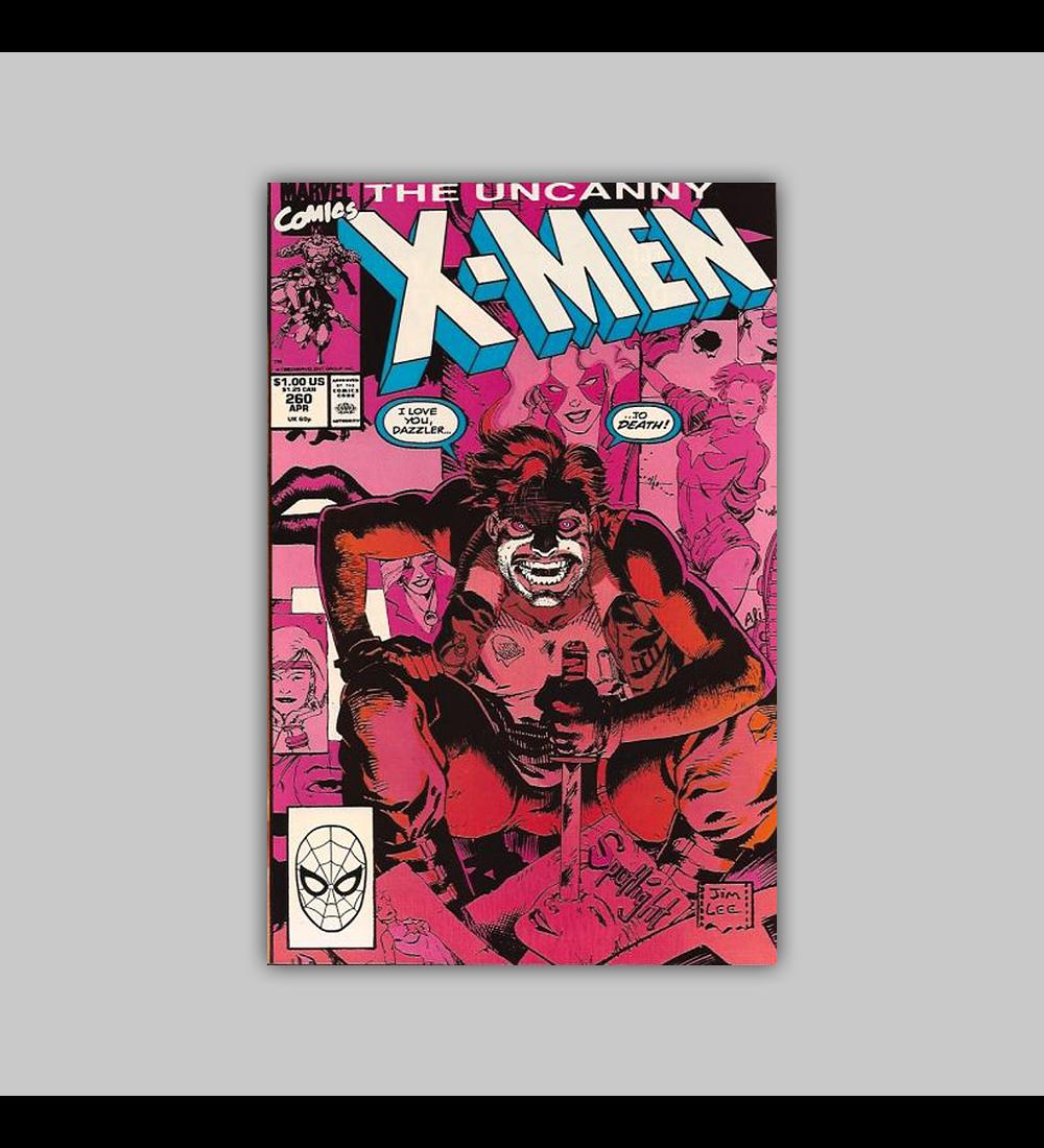 Uncanny X-Men 260 1990