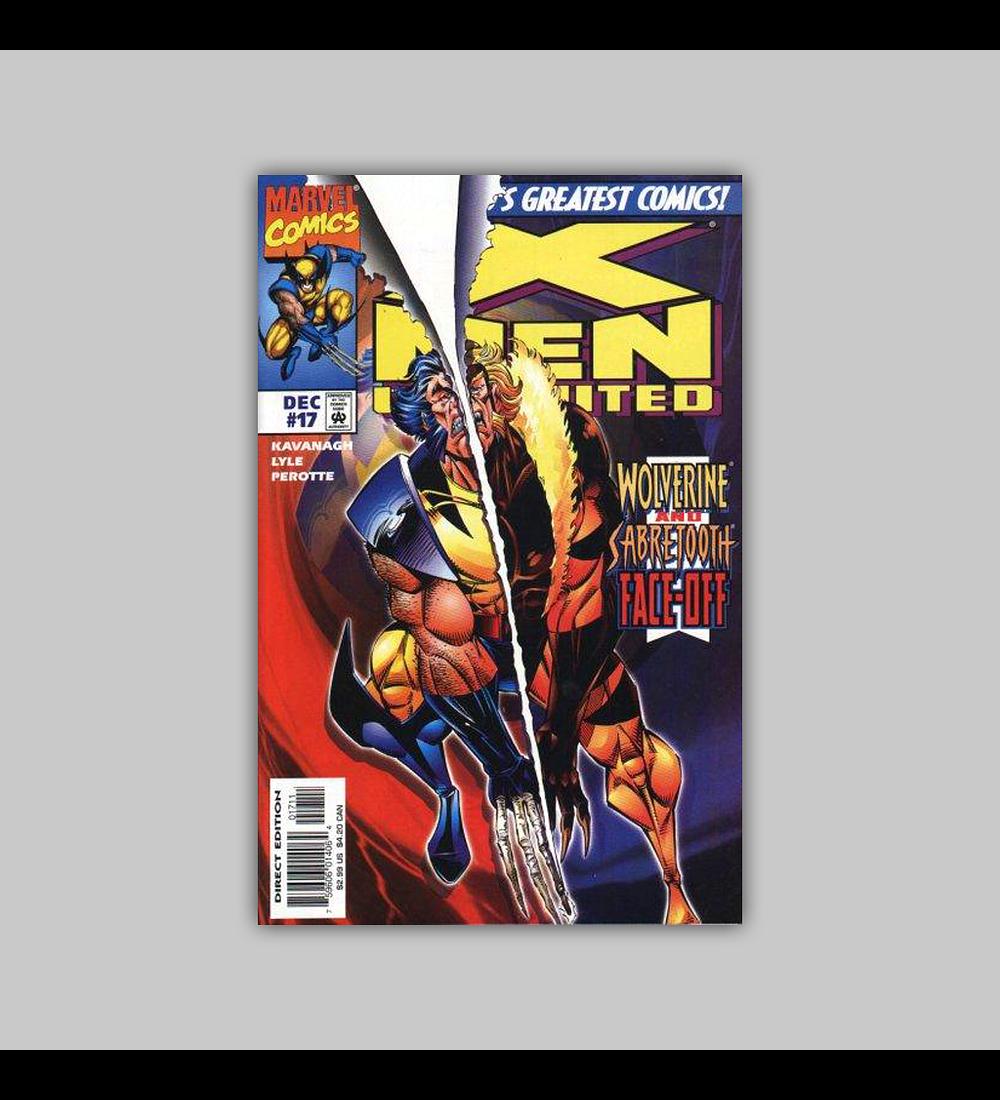 X-Men Unlimited 17 1997