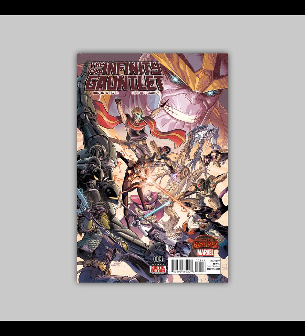 Infinity Gauntlet (Secret Wars) 4 2015