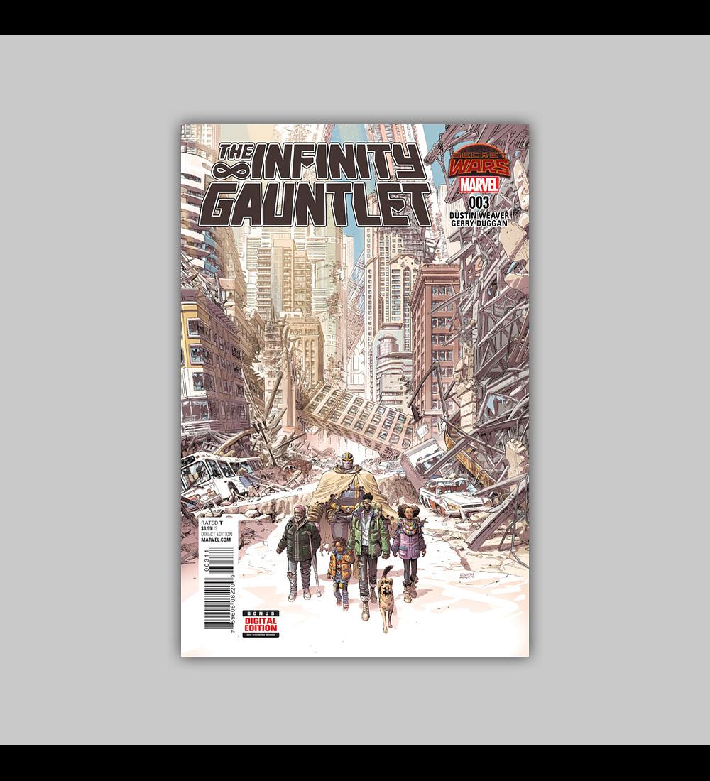 Infinity Gauntlet (Secret Wars) 3 2015