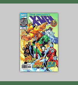 Uncanny X-Men 360 Holographic Foil Etched  1998