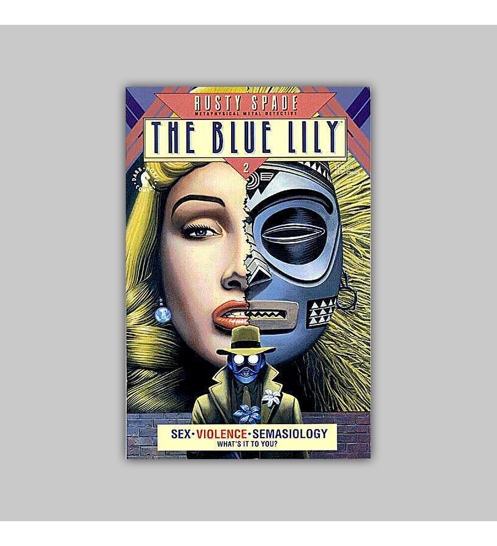 Rusty Spade: The Blue Lily 2 1993